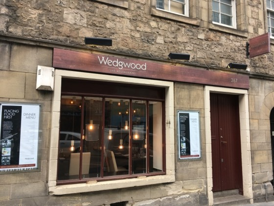 Wedgwood the Restaurant offers fine dining on the Royal Mile.