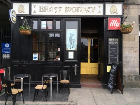 Brass Monkey on Drummond Street is casual, reasonably priced pub.