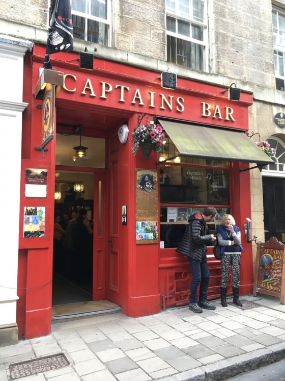 On South College Street, the live Scottish music venue Captain's Bar is a hiding in plain sight.