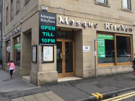A no-frills canteen-style curry restaurant, the Mosque Kitchen on Nicholson Square is open to the public.