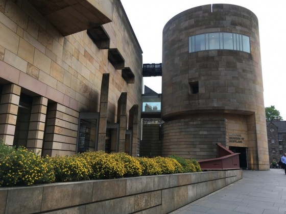 One of Britain's most loved museums is the National Museum of Scotland on Chambers Street.